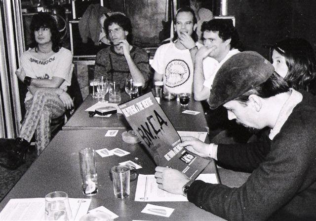 2000. Madrid. King Putreak. Rueda de prensa.