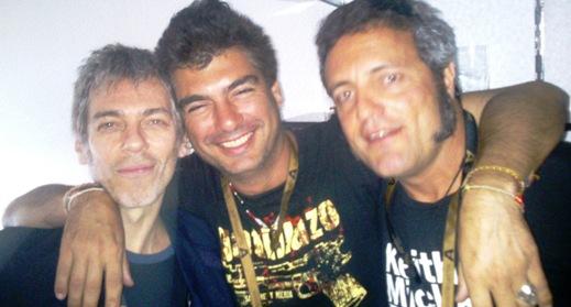 Rot, Tarque y Kike . Bernabeu 2014.PK